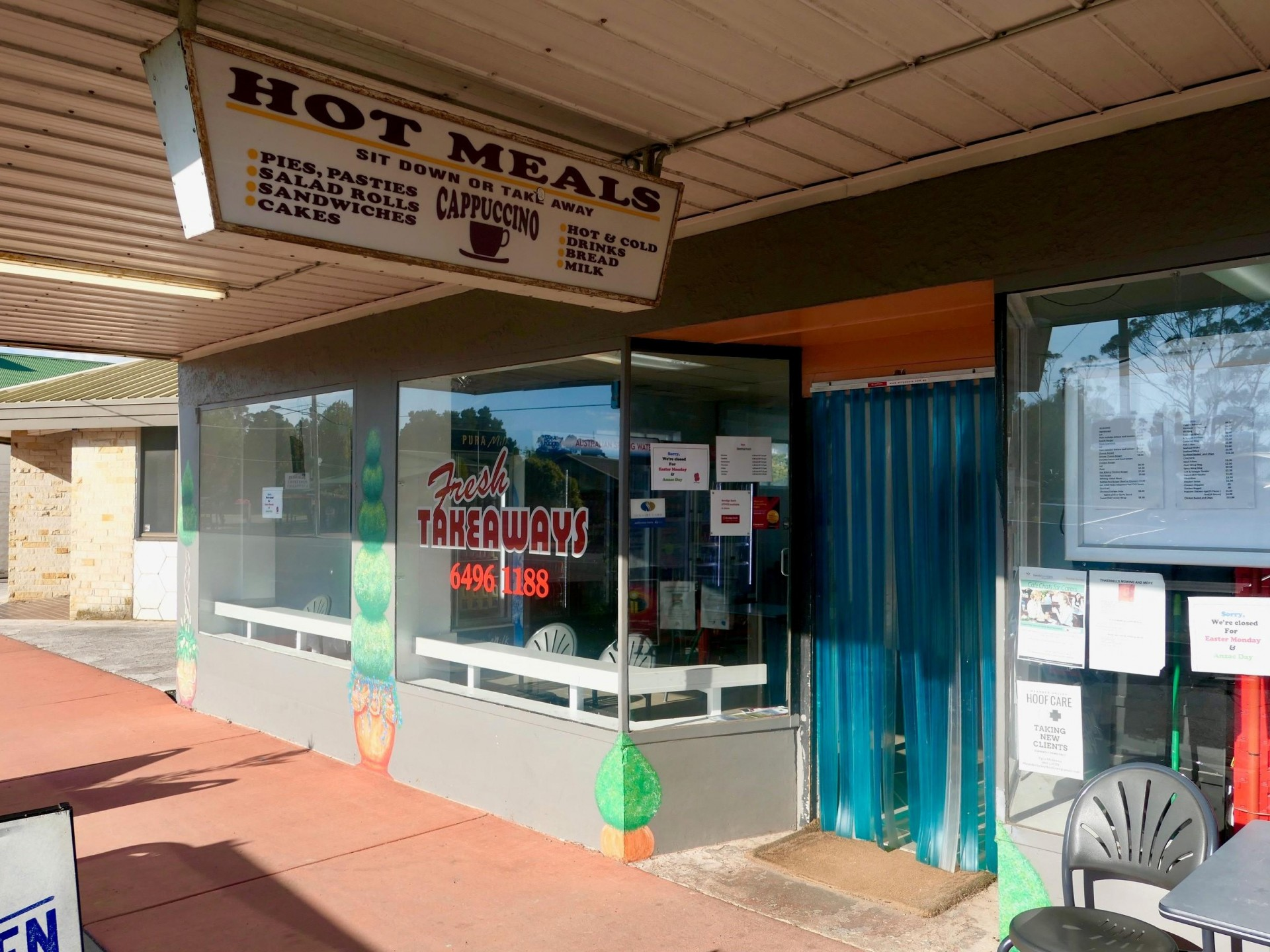 Tasmanian Country Takeaway, T/O $10,000 PW, No competition $79,990+sav Very Profitable