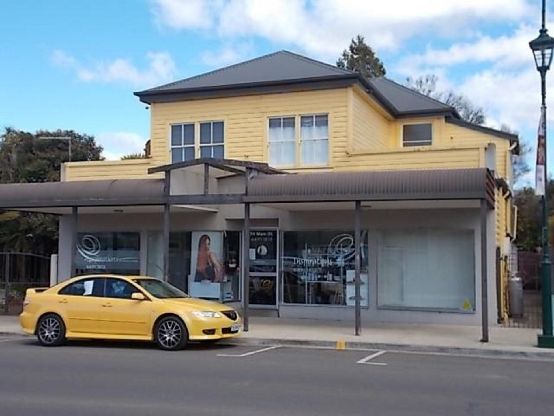 3 freehold apartments, +Hair Dressing Bus, Main ST Sheffield O/O $495,000