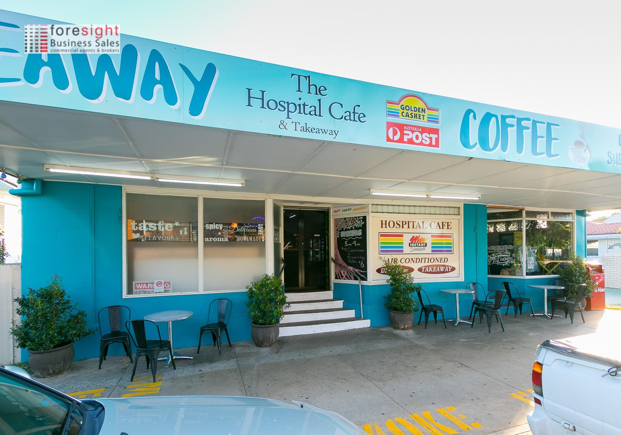 Booming Cafe and Convenience/takeaway store Maryborough SS