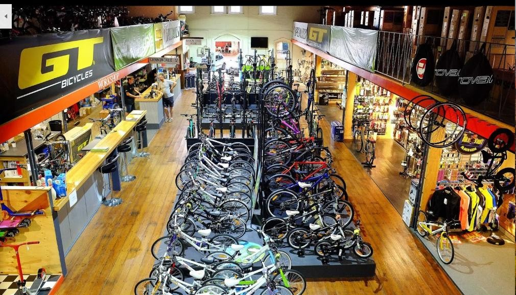 Iconic Bike Retail & Repair Shop - 103.9% ROI