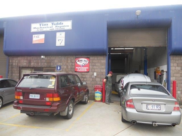 Long Established Well Known Highly Respected Launceston Mechanical Workshop $98,000 +sav neg