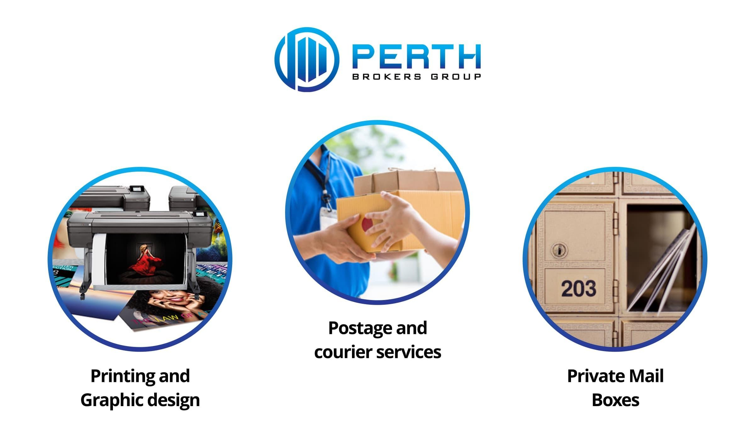 Postbox / Printing / Courier & Shipping - Established Profitable business in Perth CBD (PBG)