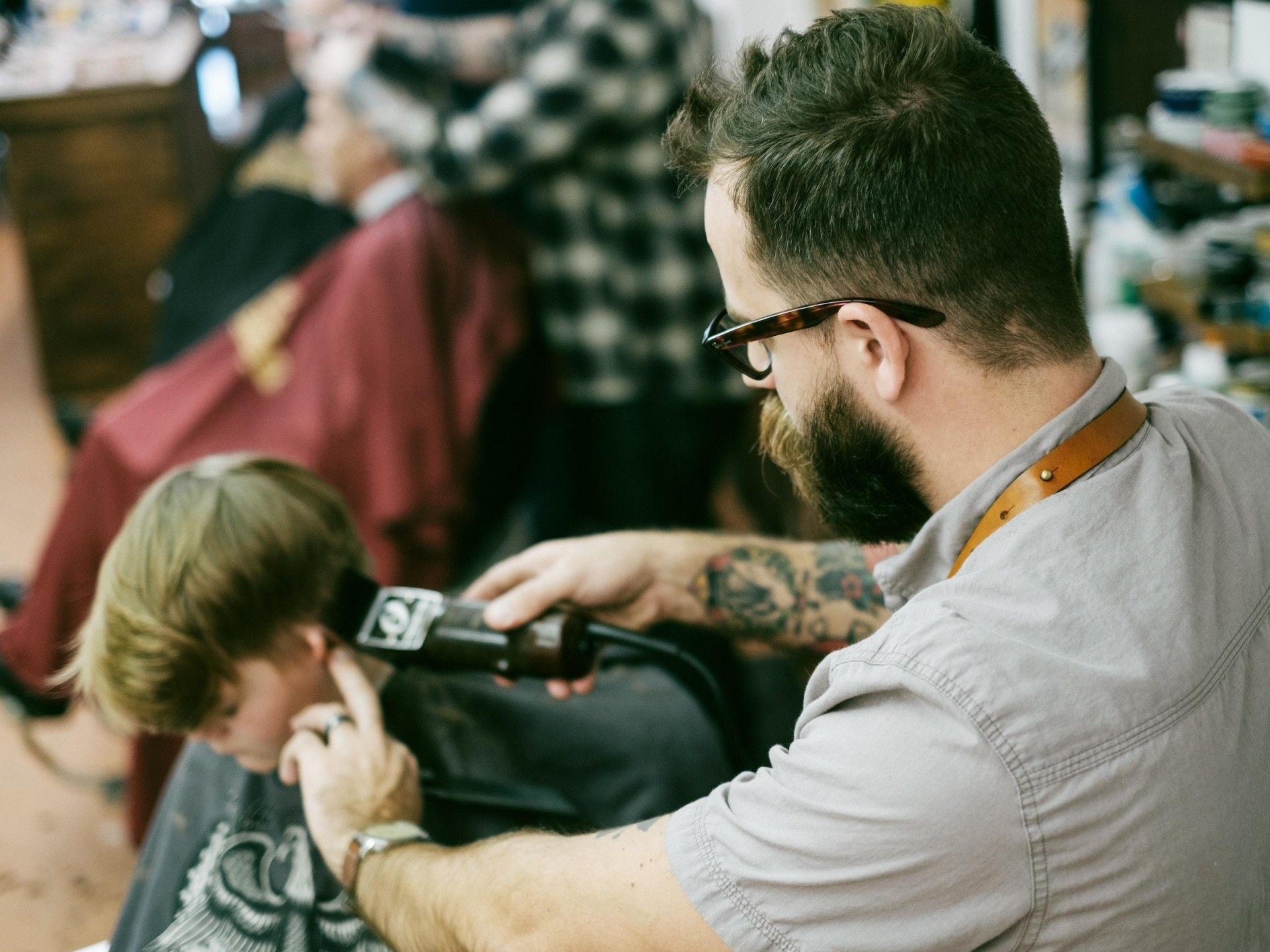 Barber Shop for sale in the Sutherland Shire - Average Weekly Profit $2100 CF
